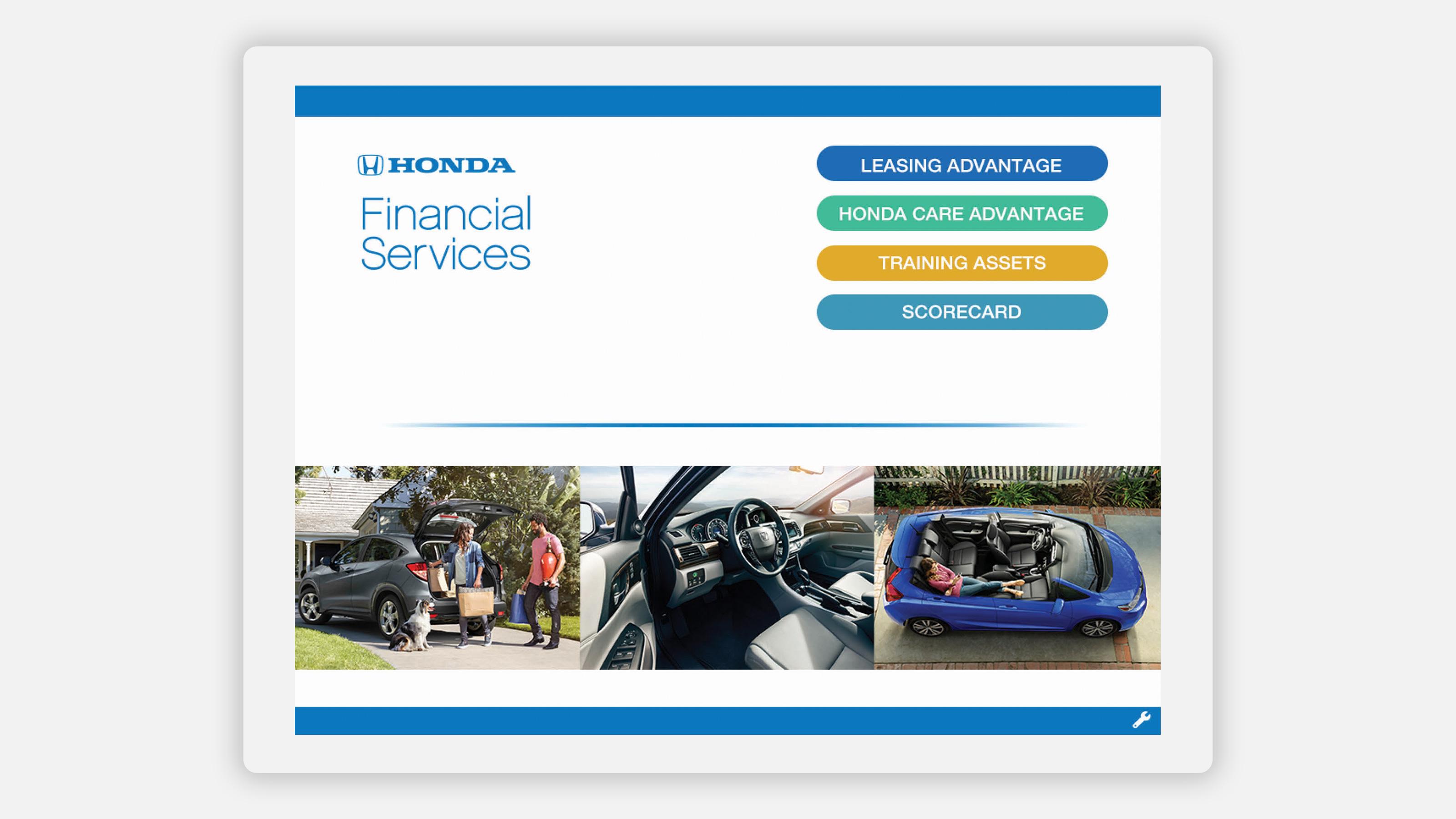 Honda finance application