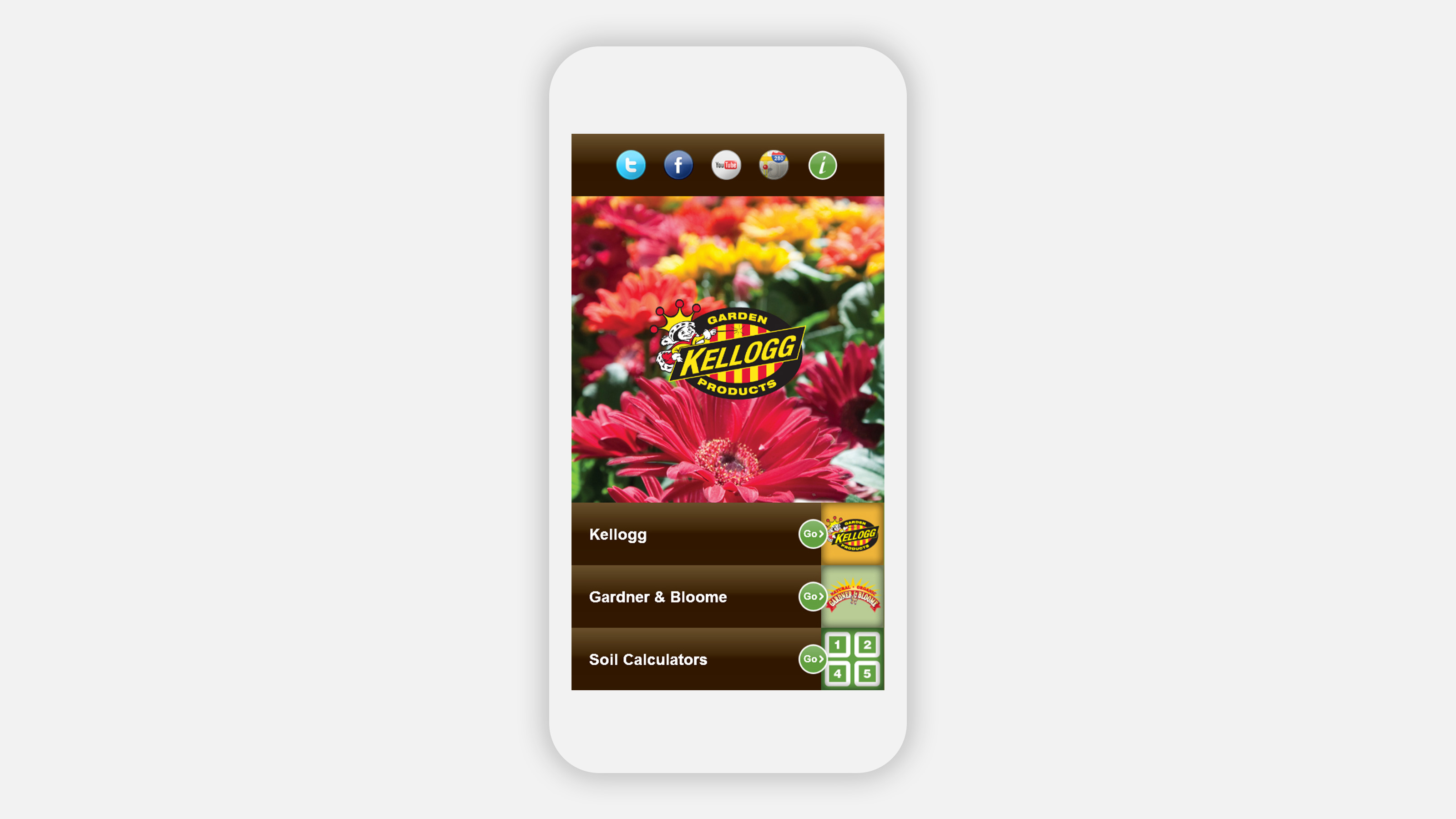 Kellogg i phone application