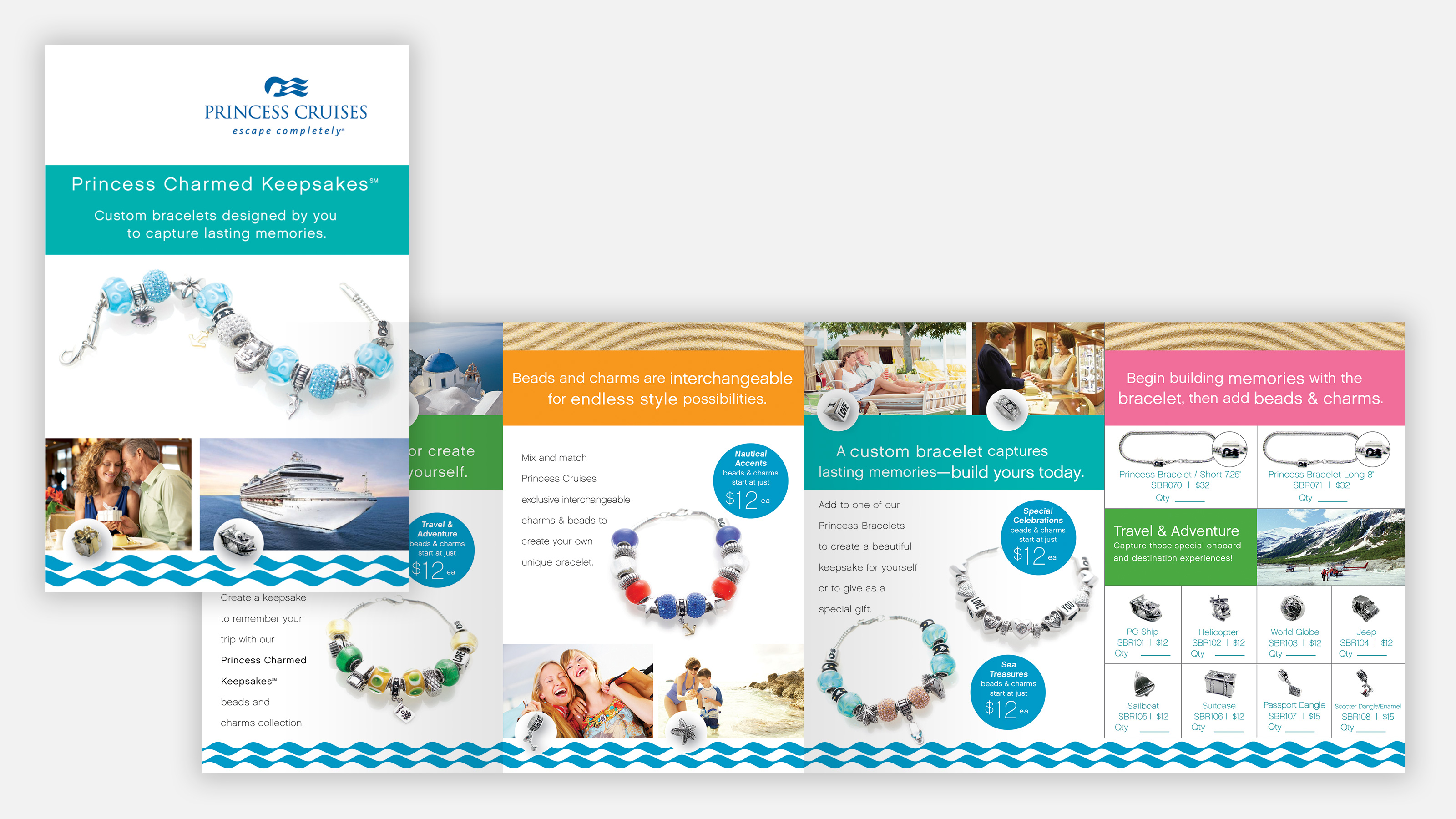 princess cruises marketing brochures