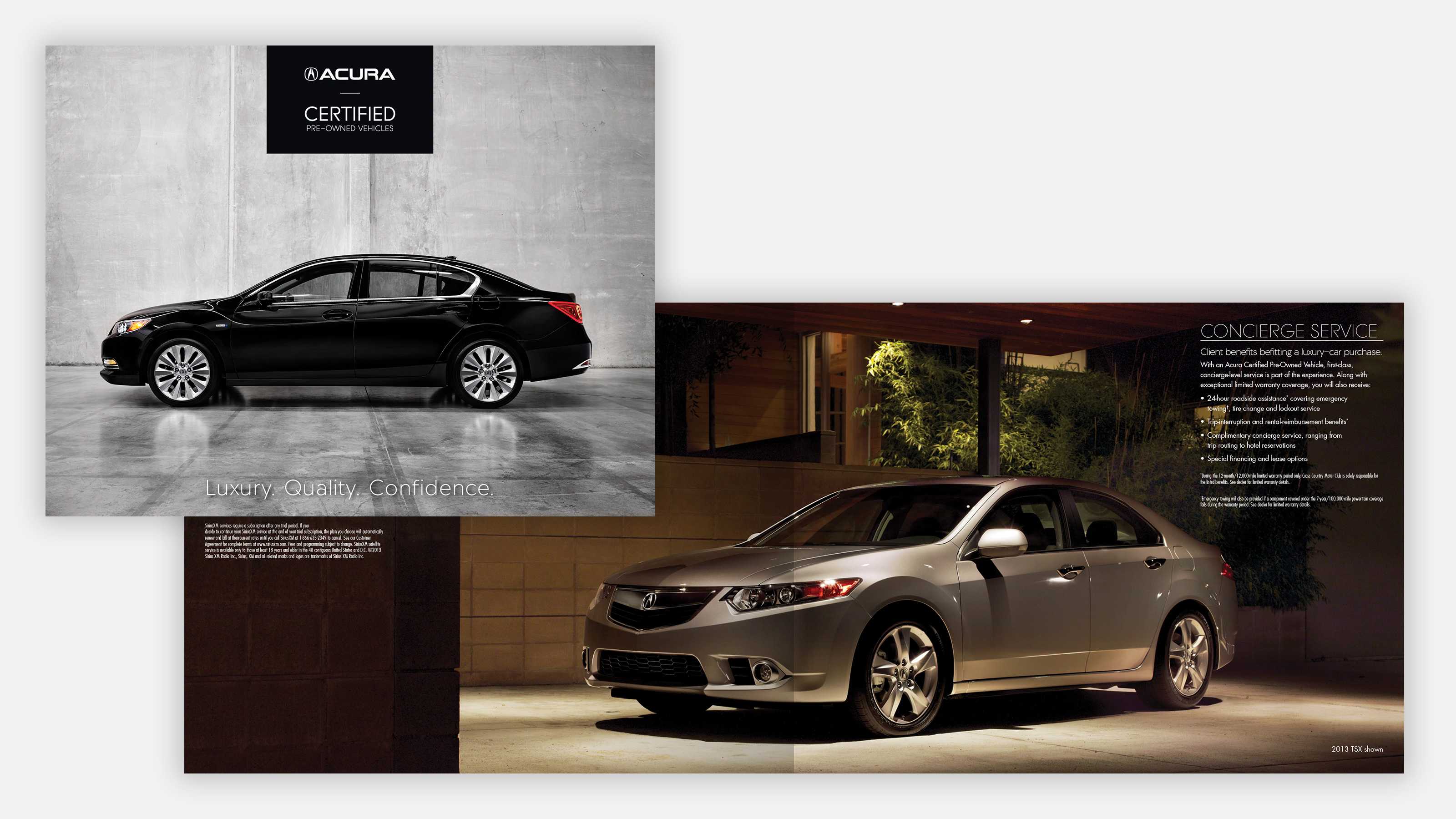 Acura Certified Pre-Owned vehicles