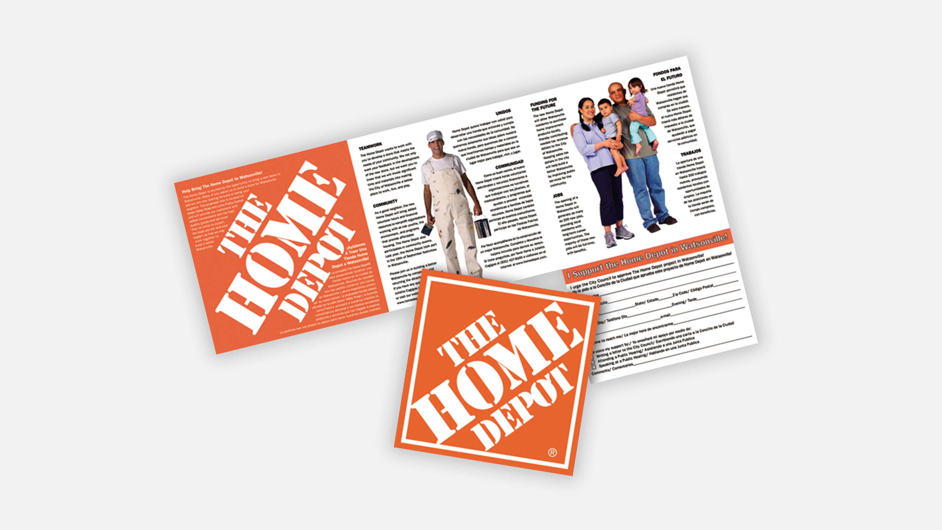 home depot direct mailer