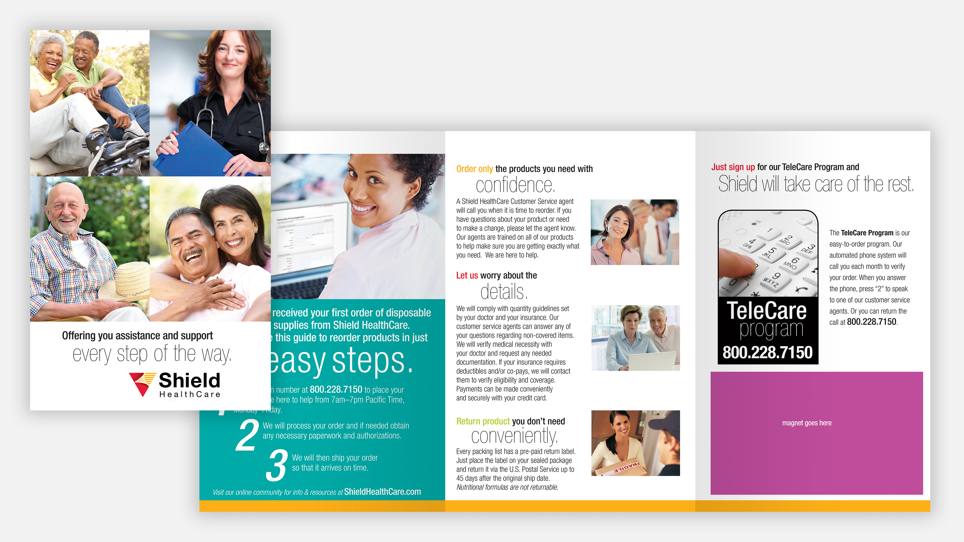 shield healthcare direct mailer