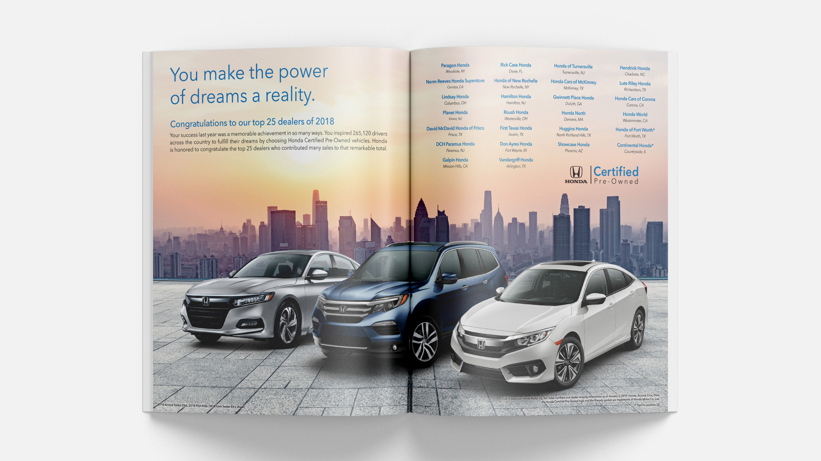 Honda Certified Pre-Owned Magazine