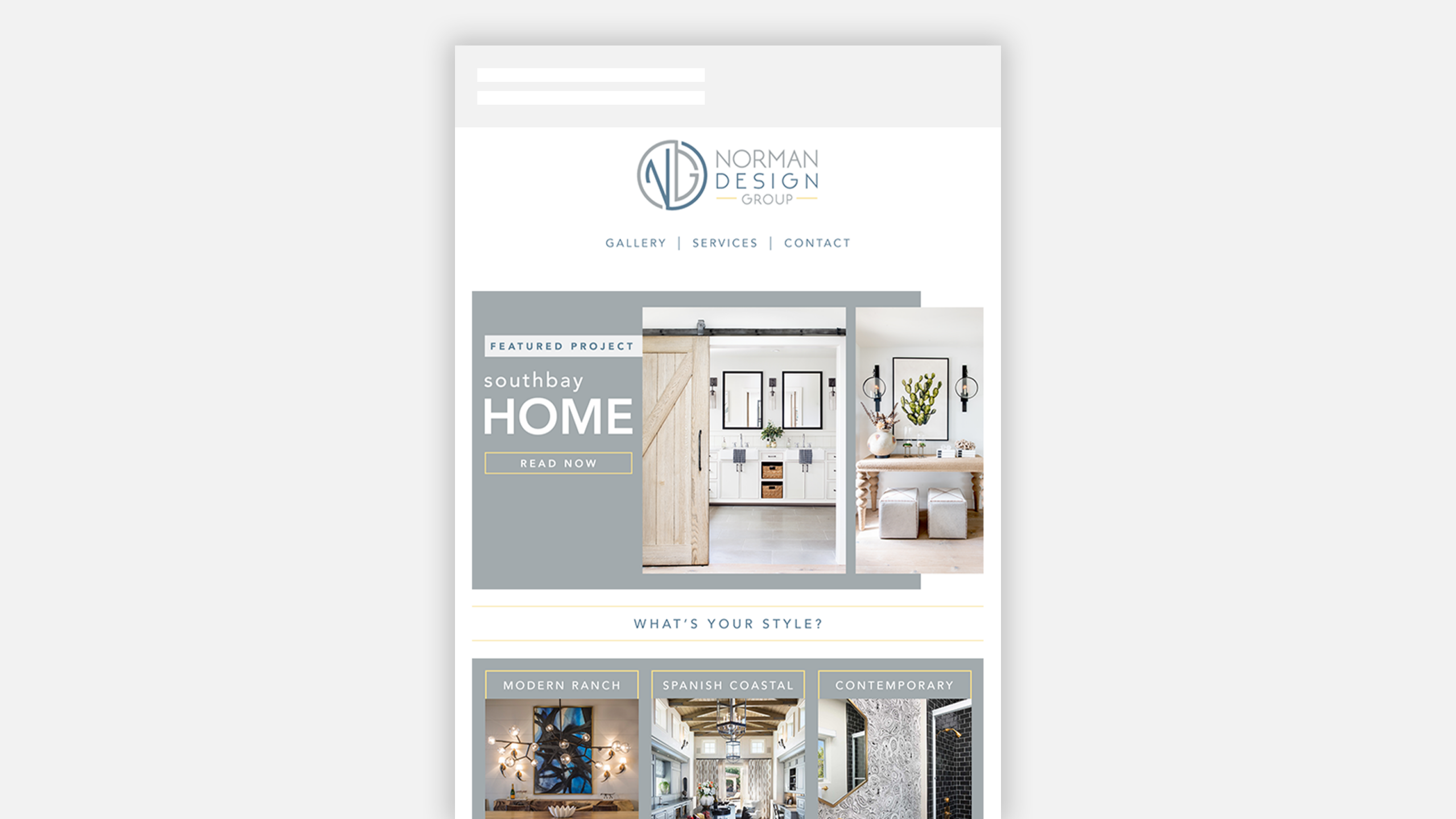 Norman Design Group Email