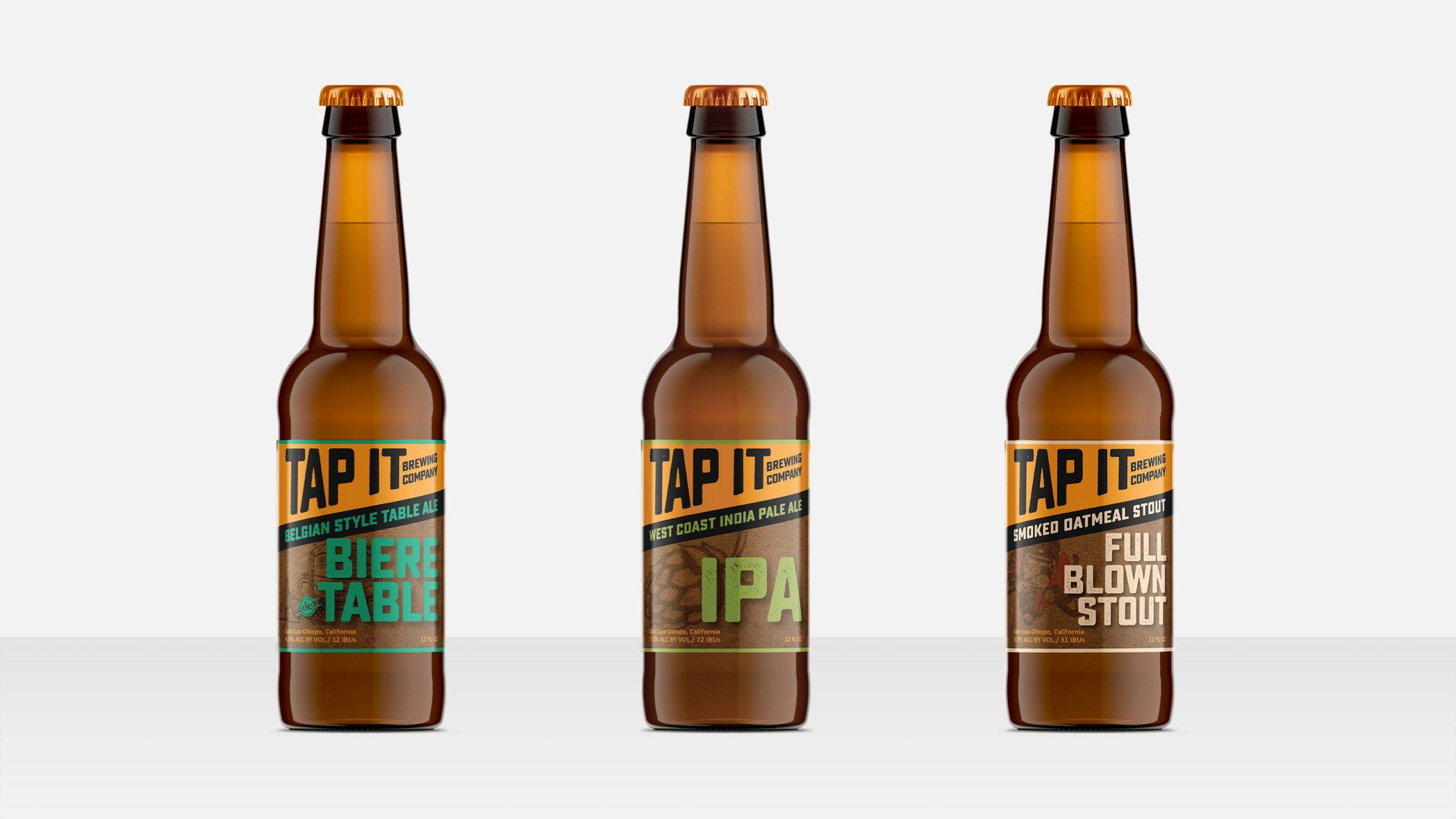Tap it bottle packaging