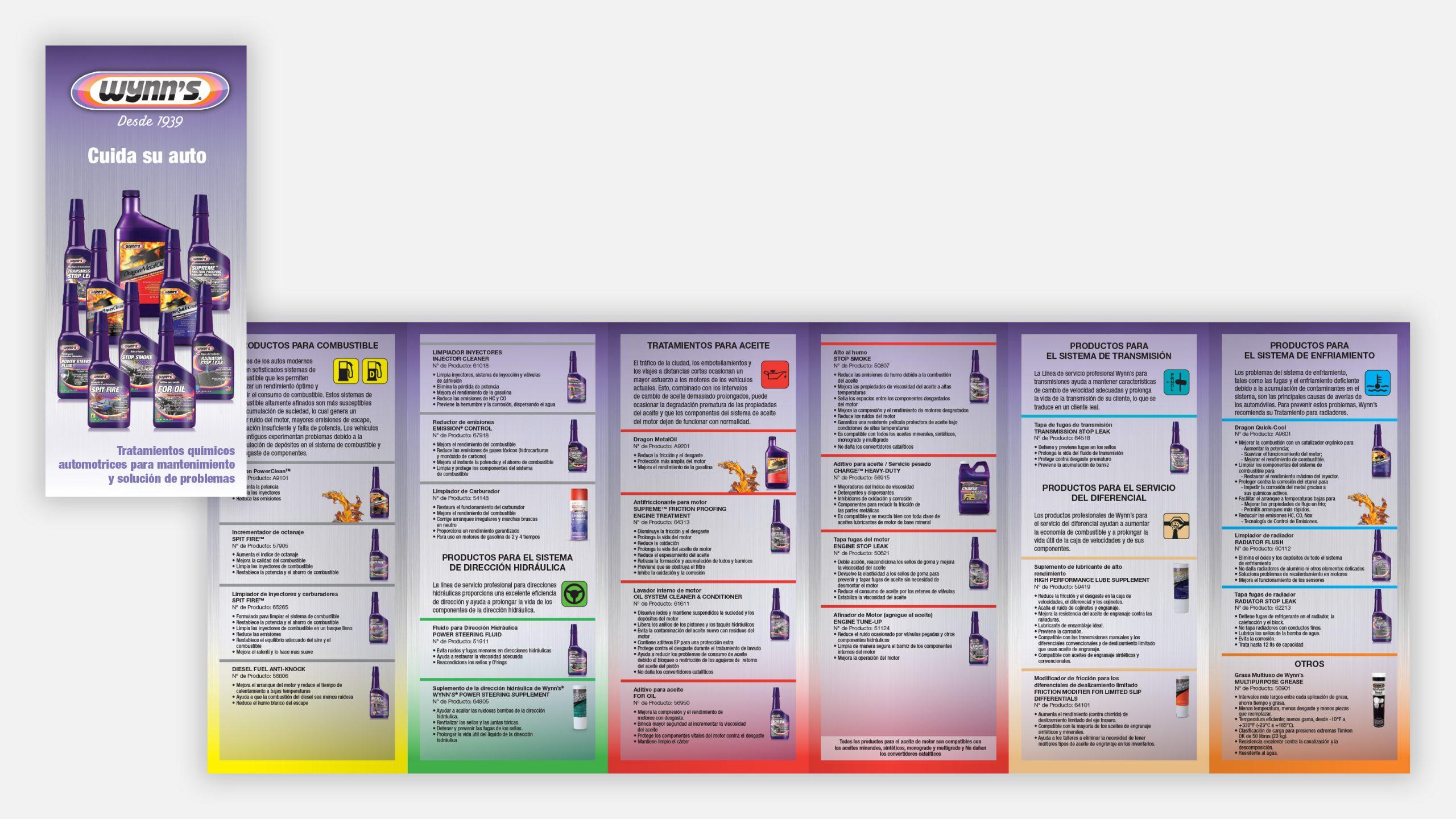 Spanish Wynns Product Brochure